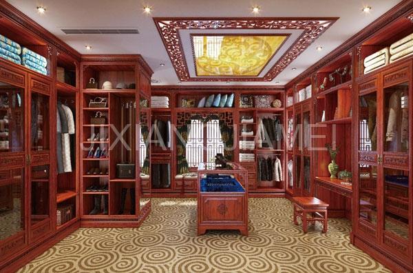 中式系列衣柜-012