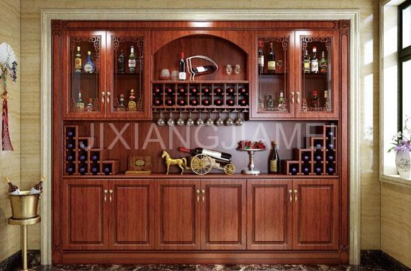中式系列酒柜-007