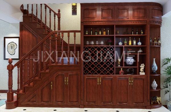 中式系列酒柜-008